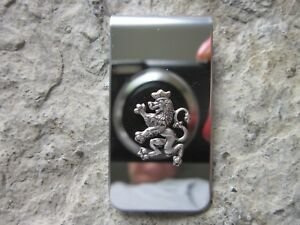 SCOTTISH LION STAINLESS STEEL MONEY CLIP- FATHER'S DAY GIFT - SCOTLAND - CELTIC