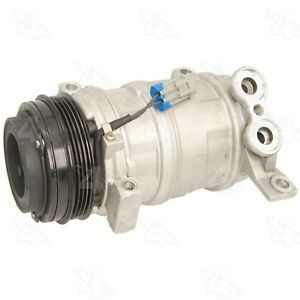 For Cadillac Chevy GMC New A/C Compressor with Clutch Four Seasons 88901