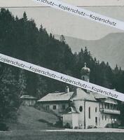 Kreuth am Tegernsee - Altes Badehaus - um 1915          Z 1-1
