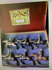 CBG Mignot: Boxed Set - Chevaliers (knights). Post War Circa 1950s