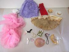 RANDOM BARBIE lot Fashion Dolls CLOTHING AND ACC AS SHOWN
