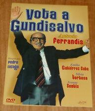 VOTA A GUNDISALVO CINE ESPAÑOL COMEDIA DVD NUEVO CAJA CARTON