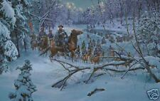 Mort Kunstler Confederate Crossing Limited Ed. Print