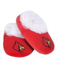 NCAA Louisville Cardinals Baby Bootie Slippers Shoes 12-24M 1-2 Years Red