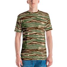 Sri Lankan LTTE Tamil Tigers Cactus Camouflage Men's T-shirt
