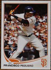 2013 Topps #564 Francisco Peguero RC Rookie San Francisco Giants