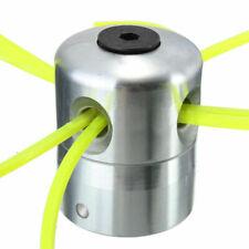 Aluminio Cabezal En Línea Doble Desbrozadora Cabeza Canilla Juego para Gasolina