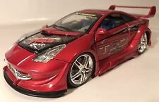 Kentoys Toyota Celica TRD X-Tuner 1:24 Scale Rare As-Is Diecast Red Racer Wear