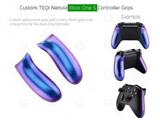 New Xbox One S Controller Grips Nebula Colour Change Purple blues Unique custom
