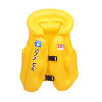 Kids Children Inflatable Swimming Pool Beach Float Training Vest Toy Jacket 42