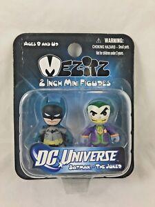 """BATMAN & THE JOKER - Mezitz - 2"""" - Mini Figures - Mezco - 2011"""