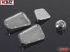Rc4wd Land Rover Defender d90 Chrome Vents & Fuel Filler parts for z-b0008 g2