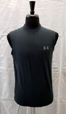 Mens Under Armour Charged Cotton Heat Gear Cotton Tank Top Size Sm + Super Soft!