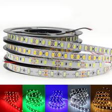 led strip 5630 5730 DC 12V waterproof tape light 60led/m 120led/m rope stripe 5m
