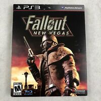 Fallout New Vegas PS3 Original Black Label Do Not Sell Before Text New Sealed