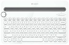 Logitech K480 Bluetooth Keyboard for PC/Mac/Tablets/Smart Phone White