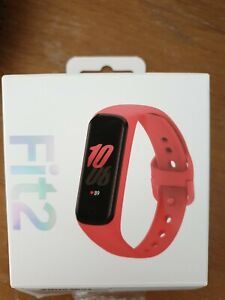 Samsung Galaxy Fit2 Activity Tracker - Scarlet Red