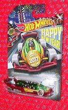 ERROR MISSING REAR WHEELS Hot Wheels Happy New Year 2017 Carbonator DJJ67-D9B10