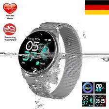 Damen Lady Smartwatch IP68 Wasserdicht Fitness Tracker Armband Pulsuhr DHL