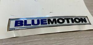 Genuine Original VW Volkswagen 'BLUEMOTION' Self-Adhesive Letters Badge Stickers