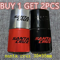 santa cruz cycling  Bicycle Bike Alloy Head Badge Decals Stickers