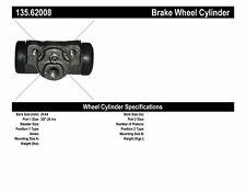 Drum Brake Wheel Cylinder-Front Drum, Rear Drum, Sedan Rear Centric 135.62008