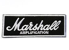 MARSHALL Amplification logo Jacket Hat T T-Shirt Iron on Patches  #Free Shipping