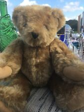 Vintage Vermont Teddy Bear #1 Jointed Authentic With Tag