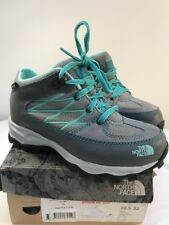 The North Face Girl Stom WP ZIN Shoes Grey RRP£55 UK13.5 EU33