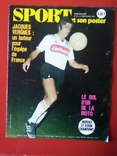 1971 SPORT et son poster n°31 VERGNES BOL D'OR DE LA MOTO CHAMPIONNAT DU MONDE