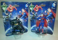 "DC Comics Superman-Batman Figurines 2.5"" tall NEW IN PACKAGES"