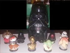 STAR WARS -1999 LUCAS FILM mini busts and 2013 Darth Vader light