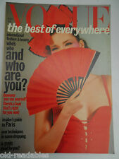VOGUE **  MARCH 1st 1977  ** More Birthday Issues in our shop ** FREE GIFTWRAP