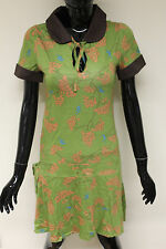 Cotton Blend Collared Short Sleeve Dresses for Women