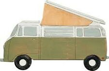 Wooden VW Camper Bus Wall Hanging