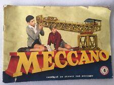 Catalogue MECCANO Manuel d'instructions 4.