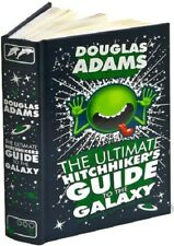 The Ultimate Hitchhiker's Guide to the Galaxy by Douglas Adams Leather Bound