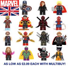 Marvel Los Vengadores DC Personalizado Minifiguras Lego Ironman Thor Batman Rápido Post