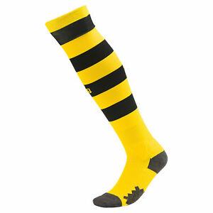 Puma Official Kids BVB Borussia Dortmund Home Football Socks 2019-20