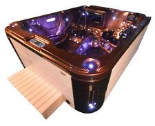 Aussenwhirlpool Hot Tub Spa Pool  SP 201-100 Coffee-Weiss
