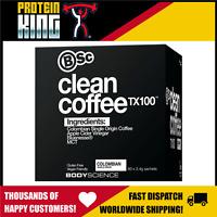 BODY SCIENCE CLEAN COFFEE TX100 COLOMBIAN 60 SERVES MOOD ENHANCING ENERGY BSC