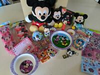 Mickey Mouse Minnie Lot Collectables Disney, unopened items