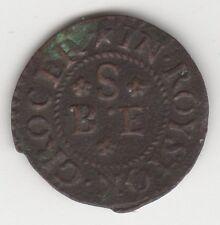 More details for 1650-1672 benjamin scrubie farthing trade token | tokens | rare | pennies2pounds
