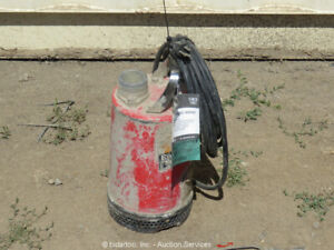 "2018 Multiquip ST2040T 2"" Electric Submersible Water Trash Pump 1 HP bidadoo"