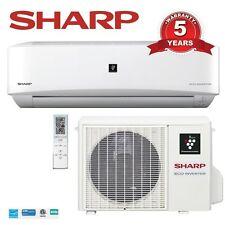 9000 Btu SHARP 22 SEER Ductless Mini Split DC Inverter Air Conditioner Heat Pump
