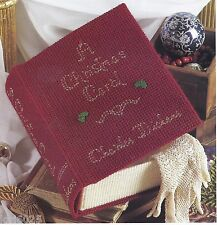 *A CHRISTMAS CAROL BY DICKENS GIFT BOX #2 -PATTERN ONLY*PLASTIC CANVAS PATTERN**