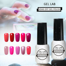Gel Lab French White Pink Neon Nail Gel Polish Manicure Varnish Top Base Coat