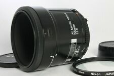 Near Mint Nikon AF Micro Nikkor 55mm f2.8 Lens with Filter from Japan