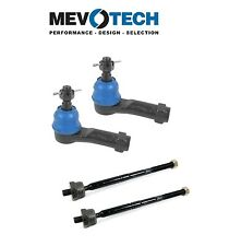 Ford F150 Linkoln Mark LT Set of Pairs Front Inner & Outer Tie Rod Ends Mevotech