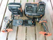 Rigid 18V Tool Combo Set